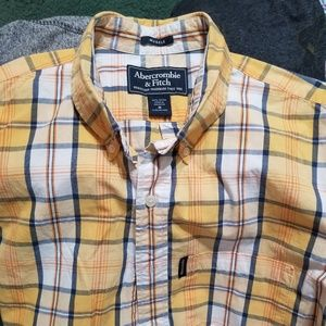 Abercrombie A&F Short Sleeve Button Up